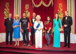 Royal Family Tussauds London