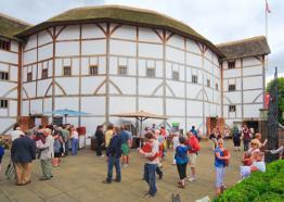 Shakespeare's Globe Exterior London