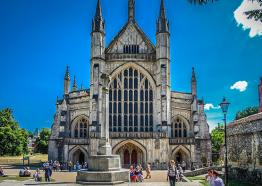 Winchester Cathedral front